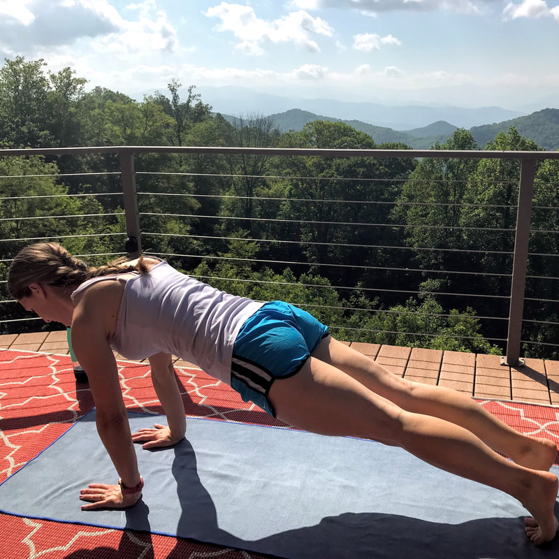 Do-Anywhere Full Body Workout: a 10 to 30 minute body weight workout by Elena McCown, LLC a health coach in Franklin, TN