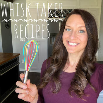 Whisk Taker Recipes: a gluten-free and dairy-free specialty cookbook with healthy and fun recipes for meals, snacks, dinners, appetizers and drinks by Elena McCown, LLC a health coach in Franklin, TN
