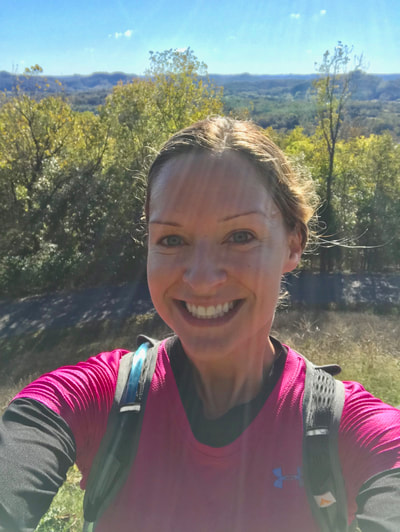 Defeated Creek Trail Half Marathon Race Recap by Elena McCown, LLC a health coach in Franklin, TN