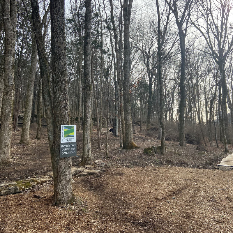 Franklin Mountain Bike Trail System: paths, trails and parks in Williamson County, TN highlighted by Elena McCown, LLC a health coach in Franklin, TN
