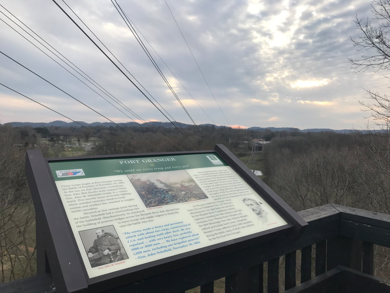 Pinkerton Park Path + Fort Granger Trail: Williamson County, TN Paths, Trails and Parks highlighted by Elena McCown, LLC a health coach in Franklin, TN