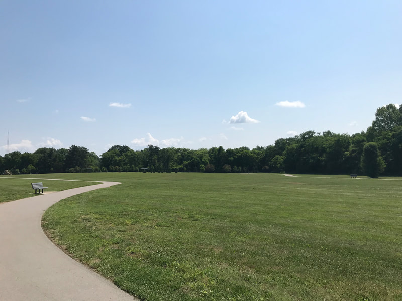 Flagpole Park Path + Wikle Park Path: Parks, Paths and Trails in Williamson County, TN highlighted by Elena McCown, LLC a health coach in Franklin, TN
