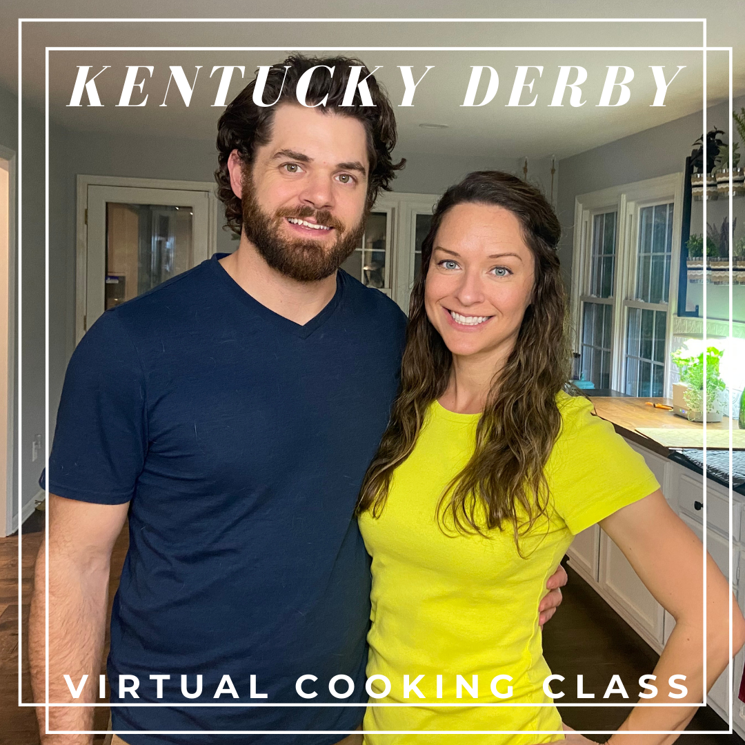 Kentucky Derby Hot Brown Pasta Virtual Cooking Class by Elena McCown, LLC a health coach in Franklin, TN with gluten free and dairy free recipes