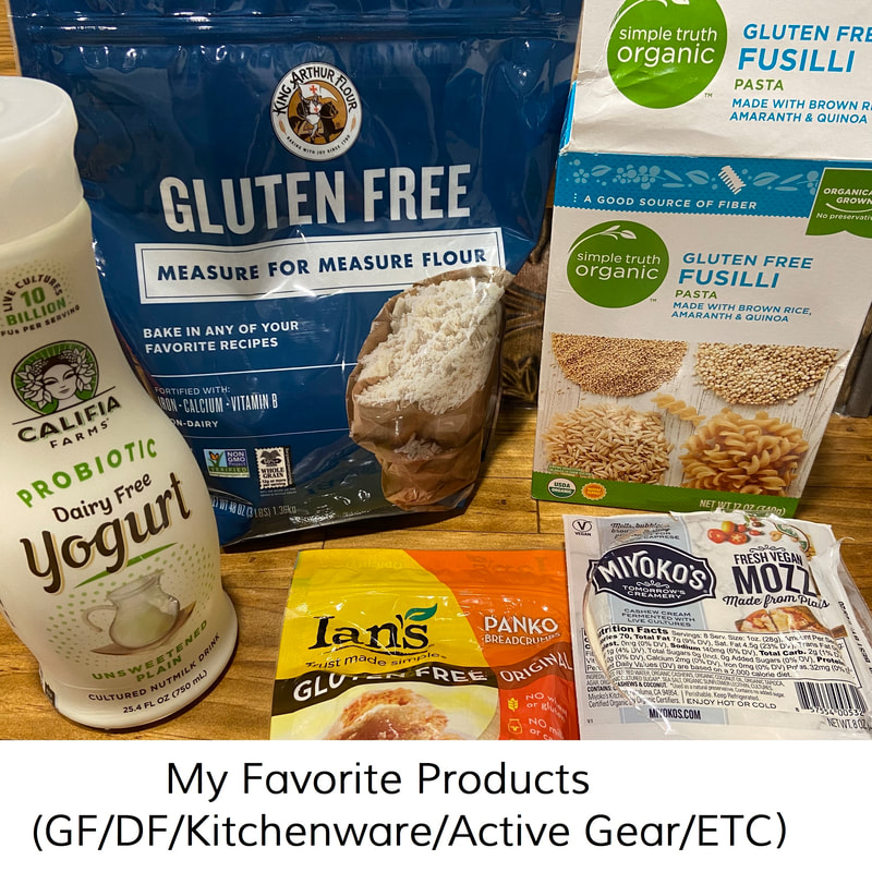 Shop My Favorites: gluten-free and dairy-free food and products, natural beauty and cleaning products, kitchenware and active gear by Elena McCown, LLC a health coach in Franklin, TN