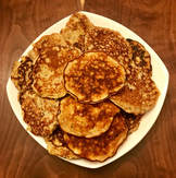 Banana Egg Pancakes: Gluten Free and Dairy Free Recipes from Elena McCown, LLC in Franklin, TN