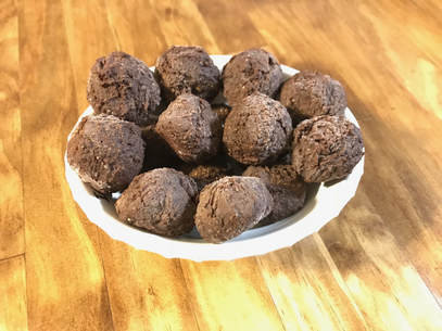 Black Bean Chocolate Peanut Butter Balls