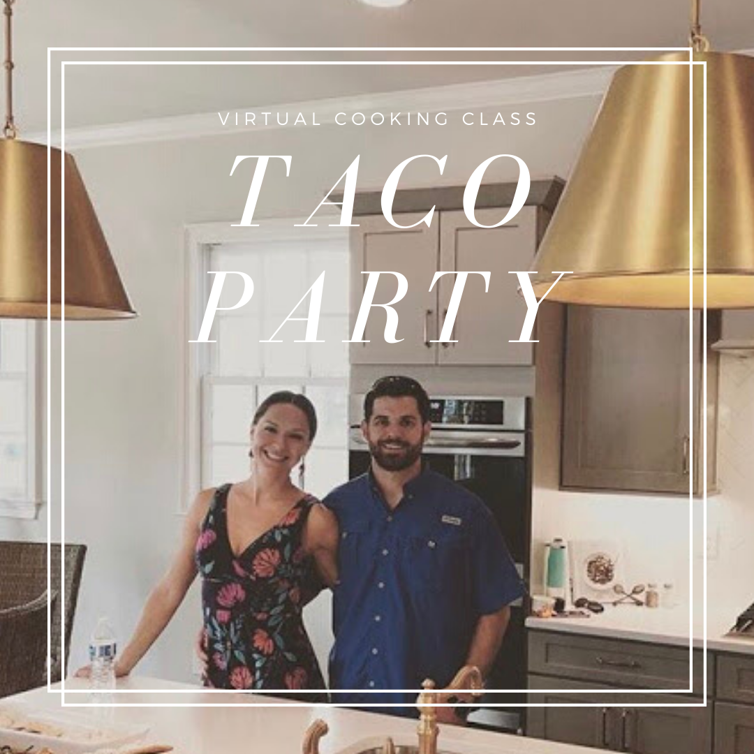 Taco Party Virtual Cooking Class: gluten free and dairy free recipes by Elena McCown, LLC a health coach in Franklin, TN